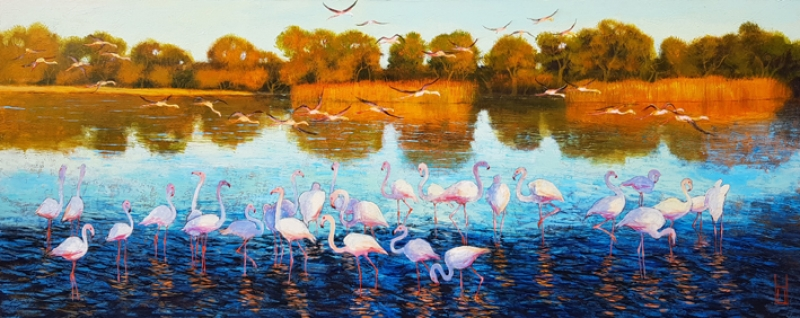 Uwe Herbst Flamingos 200
