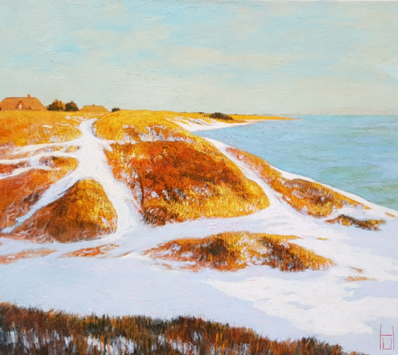 Uwe Herbst Winter in Sylt