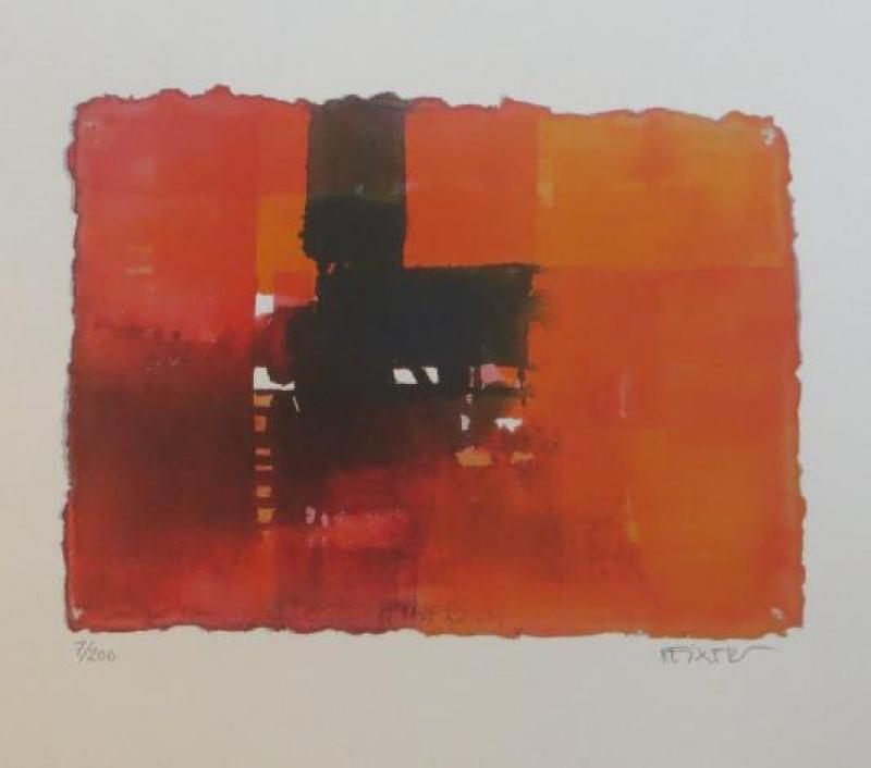Jürgen Reiners Lithografie nr 131