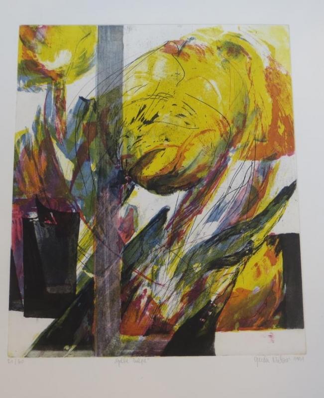 Gelbe Tulpe Nr 344