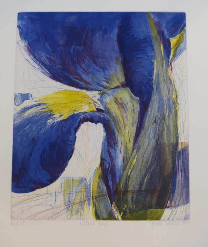 Blaue Tris Nr 348