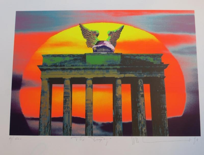 H A Schult Brandenburger Tor