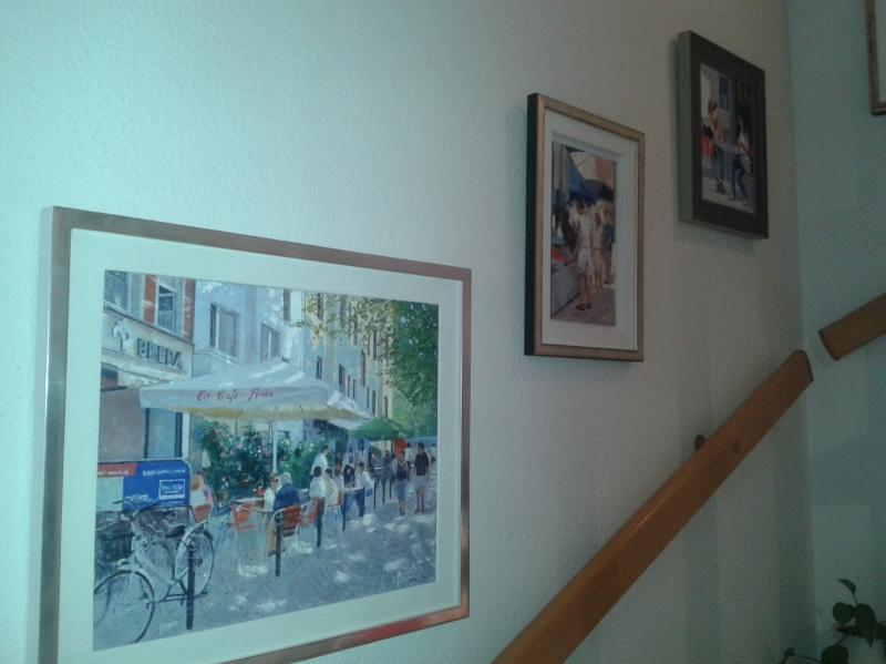 Bilder im Treppenhaus
