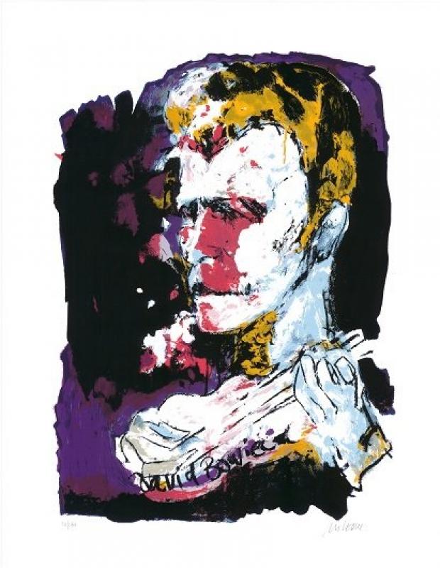 Armin Mueller-Stahl   David Bowie  Köln