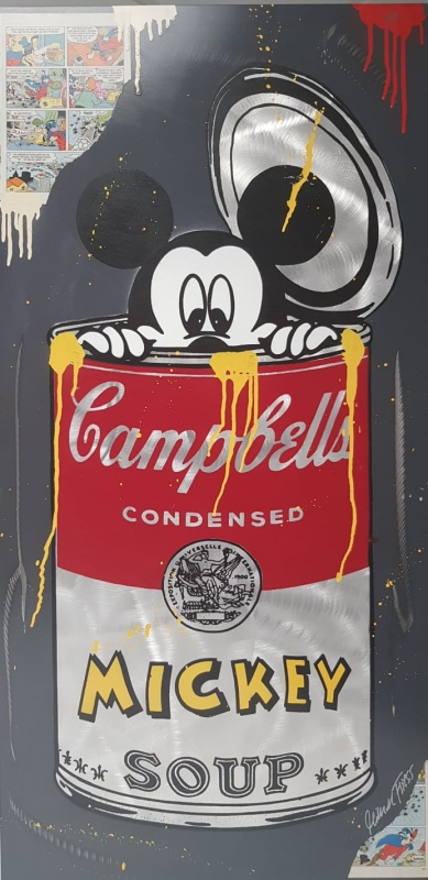 Michael Friess - Michael-Friess-Mickey-in-cambells-soup