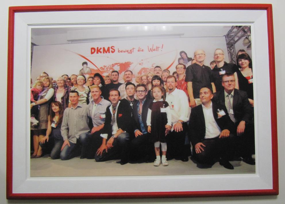 DKMS Knochenmarkspende Rahmen