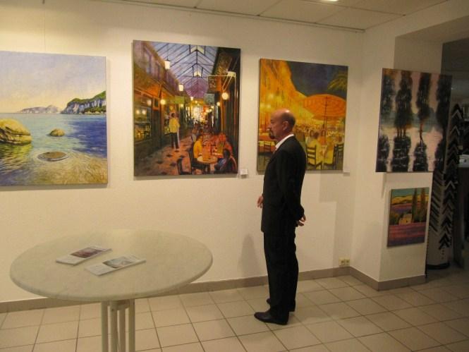 Ausstellung Galerie Wehr 2010 mit Uwe Herbst