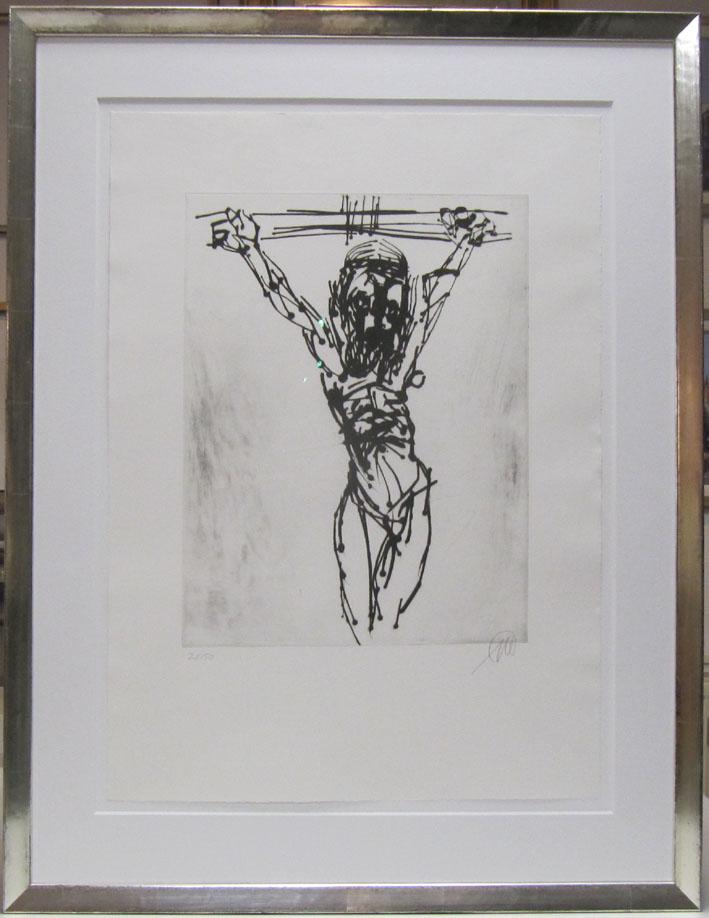 Markus Lüpperts Rahmen Jesus