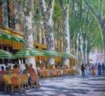 Uwe Herbst Cafe in Aix en Provence