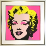Andy Warhol Rahmung Marylin