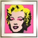 Andy Warhol Rahmung Marylin