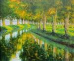 Aktuell Uwe Herbst Galerie Wehr Canal du Midi
