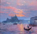 Aktuell Uwe Herbst Galerie Wehr Abend in Venedig