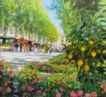 Aktuell Uwe Herbst Galerie Wehr Großer Zitronenbaum in Aix