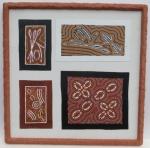 Terracottarahmen für Australienbilder