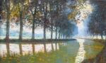 Uwe Herbst Morgen am Canal du Midi