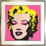 Warhol Marylin Monroe Rahmen