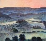 Sonnenuntergang Toscana