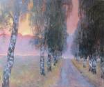 Uwe Herbst Weg im Nebel