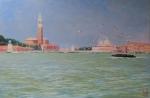Uwe Herbst Venedig mit Möwen