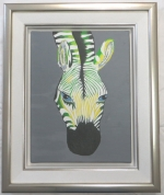 Rahmung Kinderbild Zebra