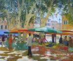 Uwe Herbst Mann auf dem Markt