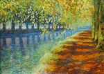 Uwe Herbst Canal du midi im Frühling