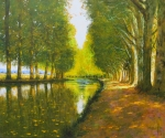 Uwe Herbst Canal im Sommer