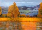 Uwe Herbst Ufer der Durance 140