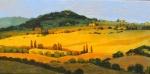 Uwe Herbst Weizenfelder in der Toscana