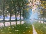 Uwe Herbst Canal du Midi Nebel im September