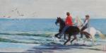 Uwe Herbst Reiter am Strand