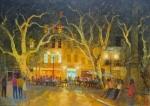 Uwe Herbst Abend in Aix