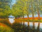 Uwe Herbst canal du midi im Herbst klein