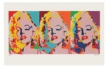 James Francis Gill Three Faces of Marilyn