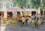 Uwe Herbst Cafe in Arles 140