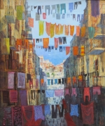 Uwe Herbst Wäsche in Neapel