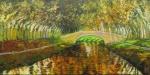 Uwe Herbst Canal mit Brücke
