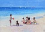 Uwe Herbst Kinder am Strand