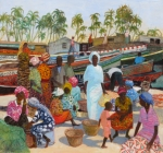 Uwe Herbst Fischerboote im Senegal