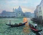 Uwe Herbst Venedig Gondeln