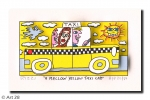 RIZZI10198 a mellow yellow taxi cab