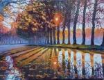 Uwe Herbst Canal du midi im Gegenlicht
