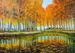 Uwe Herbst Canal du Midi im Herbst