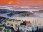 Uwe Herbst Toscana Sonnenuntergang