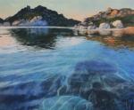 Bucht auf La Maddalena 14Z 100x120cm