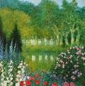 Garten in Roussan