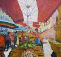 Gemuesemarkt in Avignon Herbst wehr
