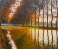 Grosses Bild zu Canal du Midi am Morgen Uwe Herbst  Galerie Wehr Pulheim