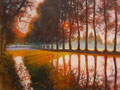 Morgens am Canal du Midi 08